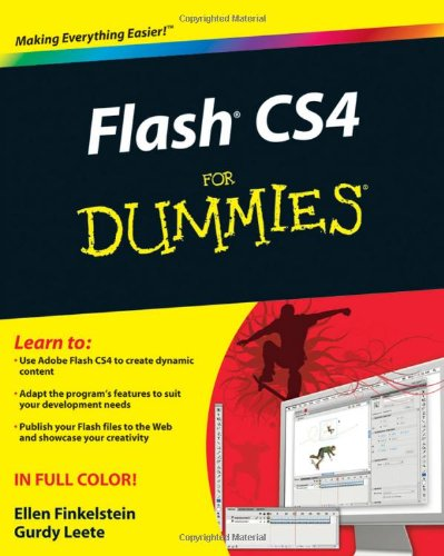 [PDF] Flash CS4 For Dummies Free Download | Publisher : For Dummies | Category : Computers & Internet | ISBN 10 : 0470381191 | ISBN 13 : 9780470381199