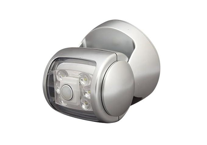 Top SHOP Foco a LED Luz Exterior Con Sensor De Movimiento wirless Rueda a 360 °
