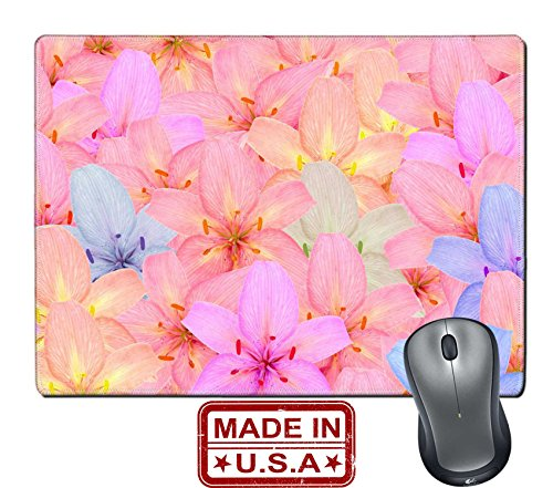 liili-natural-rubber-mouse-pad-mat-with-stitched-edges-98-x-79-beautiful-multicolored-lily-flowers-a