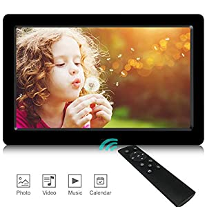 Digital Photo Frames,Newest UI Design YENOCK 8.2 inch 1280 x 720 High Resolution Full IPS Photo/Music/Video Player…