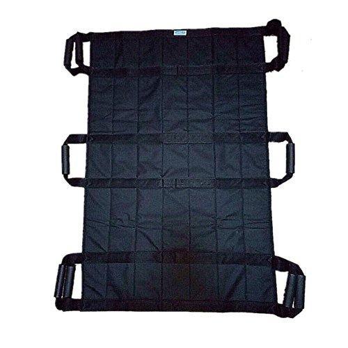 LUCKYYAN Healthcare H-11128 Lengthened Multi-Mover Plus Transfer / Slide Sheet - 3 People can lift,Black by luckyyan
