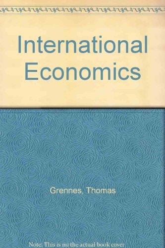 International Economics - The Grenne