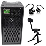 Trace Elliot ELF 2x8 Dual 8'' Bass Guitar Speaker Cabinet+Mackie In-Ear Monitors