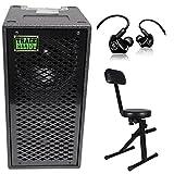 Trace Elliot ELF 2x8 Dual 8'' Bass Guitar Speaker Cabinet+Mackie In-Ear Monitors