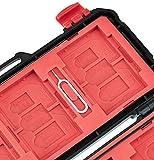 AmazonBasics Memory Card Carrying Case Holder 24