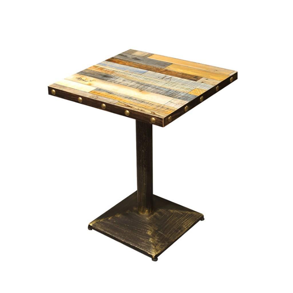 Amazon.com: Mesa de bar LOFT de madera de hierro, estilo ...