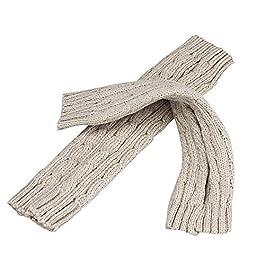 Tonsee® Fashion Knitted Arm Fingerless Winter Gloves Unisex Soft Warm Mitten Stylish