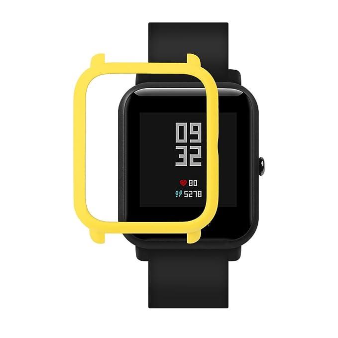 Amazon.com: Xiaomi Huami Amazfit - Carcasa rígida para reloj ...
