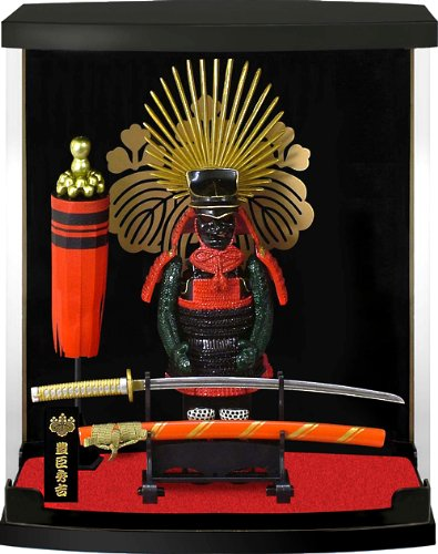 Authentic Samurai Figure/Figurine: Armor Series#12-Toyotomi Hideyoshi by Japanese Figurine