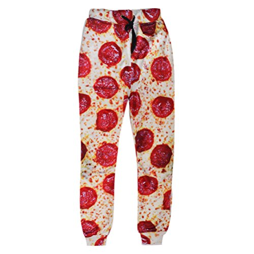 unideazone-unisex-sport-pants-funny-3d-digital-printed-pizza-sweatpants-medium-orange