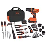 BLACK+DECKER LDX120PK 20-Volt MAX Lithium-Ion Drill and Project Kit .#GH45843 3468-T34562FD596922