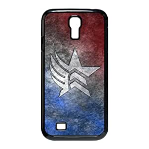Samsung Galaxy S4 I9500 Phone Case for Classic theme Mass Effect N7 Logo pattern design GCTMSEFNL793755