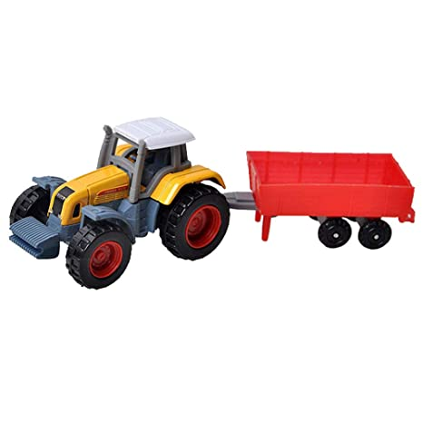 Amazon com: Fancy96 Tractor Toy Boy Farm Vehicle Belt Alloy