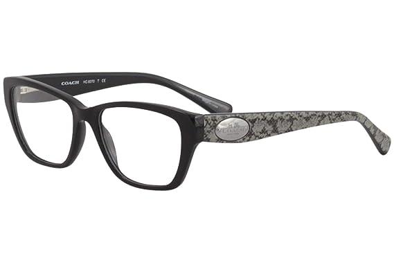 a099224522 Eyeglasses Coach HC 6070 5346 BLACK WHIP SNAKE FROG at Amazon ...