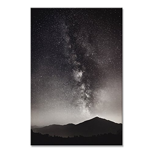Canvas Wall Art Paintings For Home Decor Night Sky Picture Modern Giclee Nature Landscape Framed Artwork The Pictures For Living Room Decoration Constellation Photo Prints On - Constellation Painting