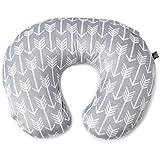 Minky Nursing Pillow Cover | Arrow Pattern Slipcover...