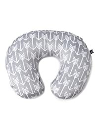 Minky Nursing Pillow Cover | Arrow Pattern Slipcover | Best for Breastfeeding Moms | Soft Fabric Fits Snug On Infant Nursing Pillows to Aid Mothers While Breast Feeding | Great Baby Shower Gift BOBEBE Online Baby Store From New York to Miami and Los Angeles