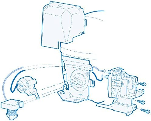 Compressore R134A ermetico Embraco Aspera EMT43HLP 4,90 cm3 1//6 Hp