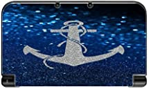 Silver Anchor Blue Background Design Print Image New 3DS XL 2015 Vinyl Decal Sticker Skin by Trendy Accessories by Trendy Accessories