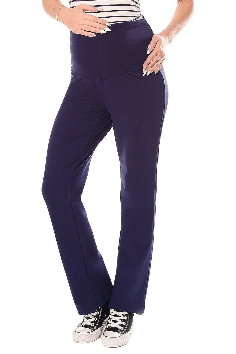 Purpless Umstandsmode Umstands Yogahose Freizeithose mit Bauchband fur Shwanggere Damen 1300
