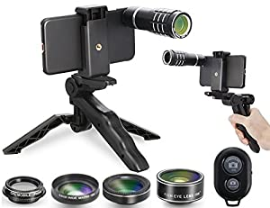 Camera Shutter Remote and Lens Kit