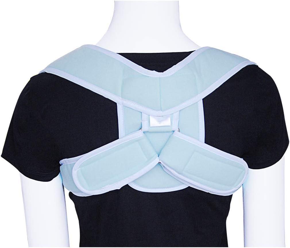 ZPWSNH Fijación de clavícula con fracturas de Hombro y Hombro niños Adultos dislocación médico corrección de Hombro cinturón de corrección de cifosis Tirantes para la Espalda (Size : L)