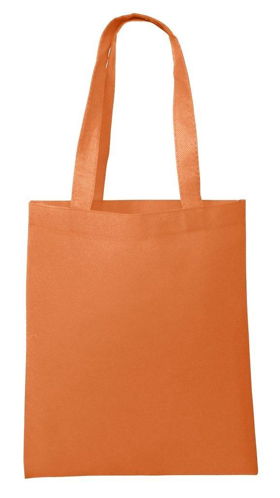 NTB10 トートバッグ 不織布 卸売用 25枚パック コンベンション 販促用 バッグ オレンジ B06WVBDB9P オレンジ オレンジ