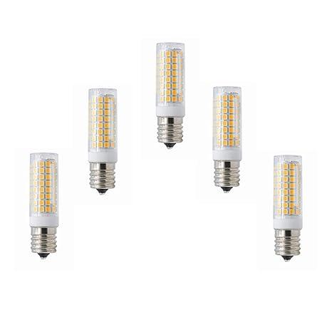 E17 Bombilla LED regulable Horno de microondas Luz 5 vatios ...