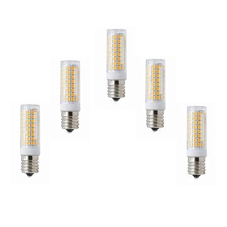 HURINGRONG Bombilla LED Regulable E17 Luz de Horno microondas 5 ...