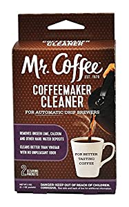 Mr. Coffee Coffeemaker Cleaner - For All Automatic Drip Units, 2 Packets - Set of 2 (Total 4 Packets) from 0