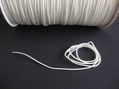 For Sale! 10 YARDS: 1.8 MM WHITE Professional Braided Nylon Lift Cord / Blinds & Shades