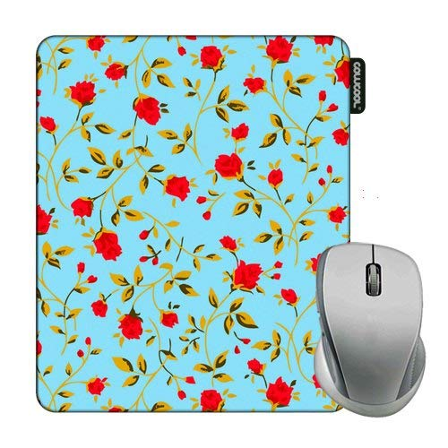 Cowcool Flower Mouse Pad Morning Glory Camo Mouse Pads for Computers Laptop - Crystals Glory 12