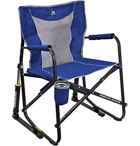 GCI Outdoor Freestyle Rocker Mesh Chair Royal Blue