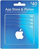 iTunes $10 Gift Card 4-pack