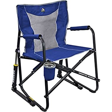 GCI Outdoor Freestyle Rocker Mesh Chair (Royal Blue)