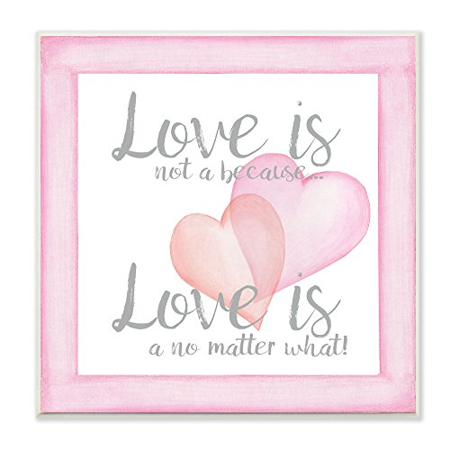 Stupell Home Décor Love No Matter What