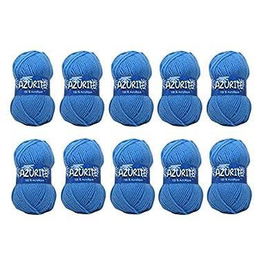 Laine AZURITE Distrifil Sachet de 10 pelotes 0565 Corail pastel