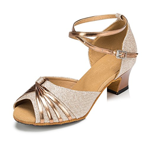 Miyoopark - salón mujer Gold-4.5cm Heel