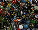 Lampwork Beads Assorted, Indonesian - 12+ Pieces, Mostly Pairs