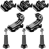 Neewer 8-in-1 Accessory Kit for Gopro - Buckle Clip Basic Mount - Vertical Surface Quick Mounting J-Hook Buckle Mount - Long Thumb Screw for GoPro Hero 3 3+ 4 5 6 Accessories SJ4000 SJ5000 SJ6000