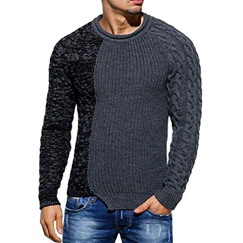 Force Performance Polo - Clearance Sale! 2018 Wintialy Fashion Men's Autumn Winter Pullover Knitted Raglan Patchwork Sweater Blouse Top