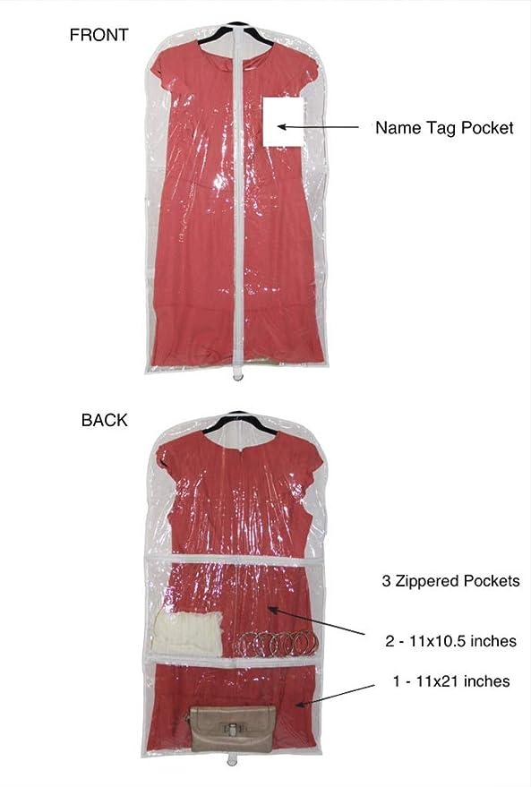 Amazon.com: Bolsa de plástico transparente para ...