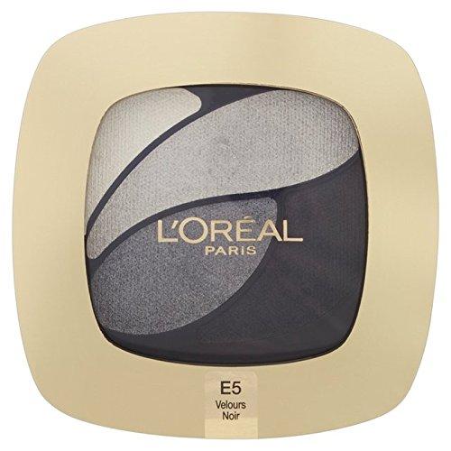 ロレアルパリのカラーリッシュクワッド、5信じられないほどの灰色の30グラム x4 - L'Oreal Paris Color Riche Quad, E5 Incredible Grey 30g (Pack of 4) [並行輸入品] B072DXL9HJ