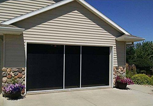 garage door retractable screen - 9
