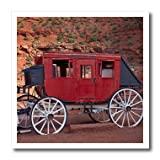 Navajo Nation, Monument Valley, stage coach at Gouldings Trading Post Iron on Heat Transfer is a great way to jazz up a plain T-shirt, pillow case or any other light color fabric. The transfer is transparent and should be applied only to whit...