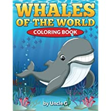 Whales of the World Coloring Book