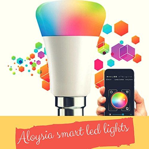 Aloysia Bluetooth Smart LED Bulb with 2 Years Warranty