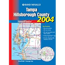 Amazon rand mcnally tampa florida books streetfinder tampa hillsborough county sep 2003 by rand mcnally sciox Image collections