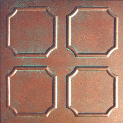 Ceiling Tile Antique Copper Patina