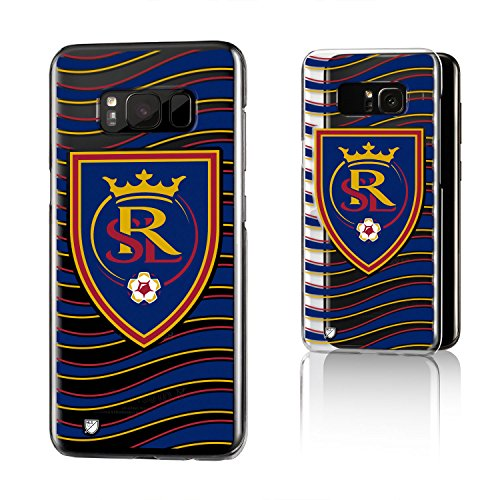 Keyscaper MLS Real Salt Lake Wave Clear for Galaxy S8, Clear by Keyscaper